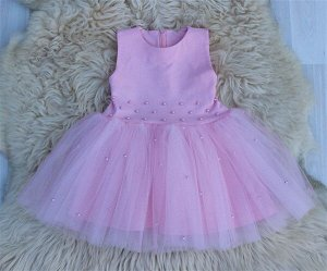 Платье «Бусинка» РОЗОВЫЙ