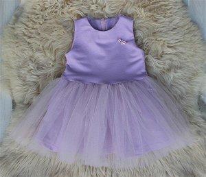 Платье «Брошь» ЛИЛА