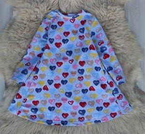 Платье «Сердечки»