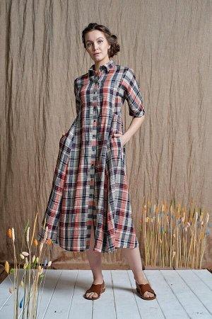 Платье Art - Лен