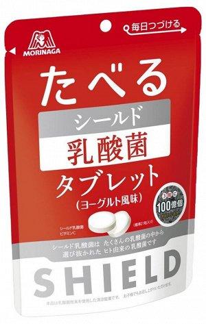 MORINAGA Shield - съедобный щит лактобактерии со вкусом йогурта