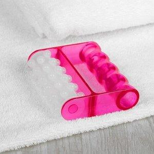 Массажёр антицеллюлитный, цвет белый/розовый