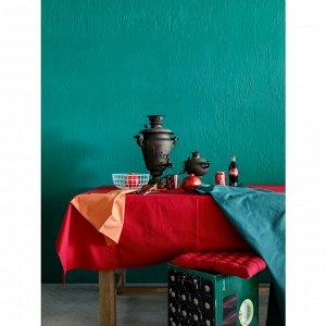 Скатерть Corzano цвет красный (150х250 см)