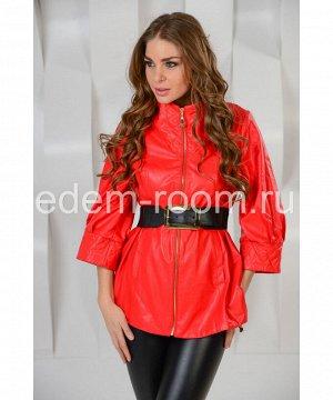 Удлинённая куртка на поясеАртикул: 5095-KR