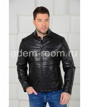 Кожаная куртка на синтепонеАртикул: C-52298