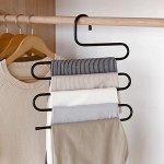 Вешалка для брюк и юбок «Змейка», 33?36 см, цвет МИКС