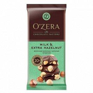 Шоколад O Zera молочный Milk@Extra Hazelnut 90г