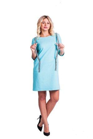 Платье П 594 (ментоловый)