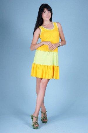 Сарафан С 7 (желтый)