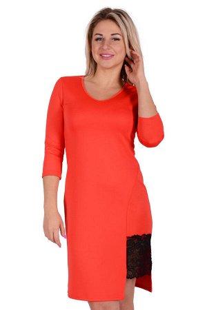 Платье П 731 (алый)