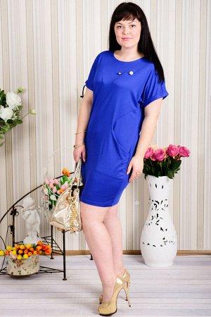 Платье П 576 (васильковый)