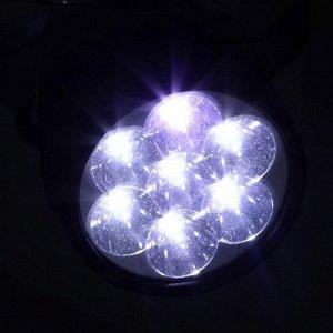 """Фонарь налобный """"Мастер К."""", 7 LED, 1 режим, 3 АА, 7.5х6.3 см"""