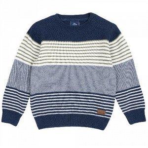 Джемпер Chicco, размер 098, цвет сине-белый