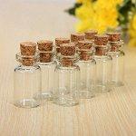 Бутылочки стеклянные мини с пробкой 3,5см