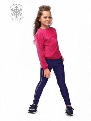 """Zipit Леггинсы для девочек (Conte) декоративная тесьма по боковым швам  """"лампасы"""""""