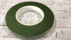 Тейп лента, 1,2 см, болотный зеленый