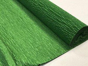 Гофра Китай, 250*50 см № 55 папоротниково-зеленый