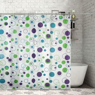 Красивая и удобная ванная - 4 — Шторы для ванной и комплектующие — Ванная