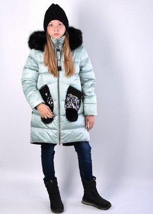 19177 Пальто для девочки Anernuo