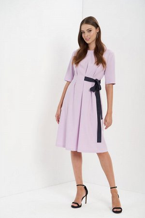 Платье Цвет: лиловый 74%полиэстер23%вискоза3%лайкра