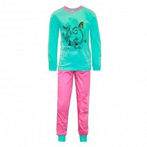Пижама для девочек арт 10392-3
