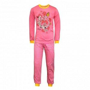 Пижама для девочек арт 10392-5