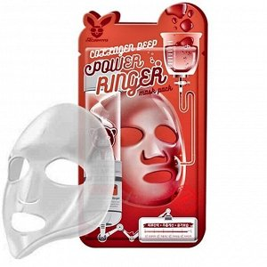 Elizavecca Тканевая маска для лица с Коллагеном COLLAGEN DEEP POWER Ringer mask pack, 1шт