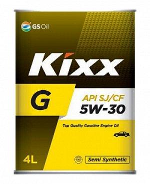 Масло моторное GS Kixx G 5w30 4л  SJ полусинтетика