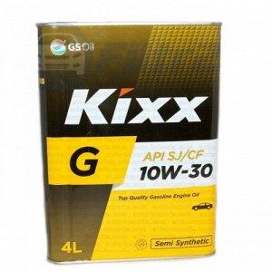 Масло моторное GS Kixx G 10w30  4л  SJ полусинтетика