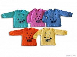 Рубашечка Рубашечка из интерлока, 100 % хлопок, с мягким принтом. Расцветки для мальчиков и девочек Интерлок 100% хлопок