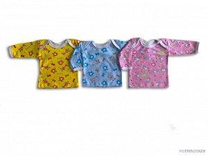 Рубашечка Кулирка 100% хлопоккулирная гладь , 100 % х/б