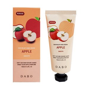 Dabo skin relief hand cream Apple Яблочный крем для рук