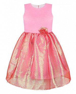 Розовое платье для девочки Цвет: розовый
