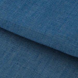 Ткань для пэчворка мягкая джинса голубая, 50 ? 50 см