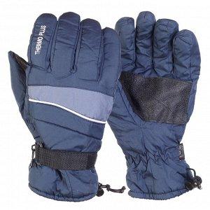 Брендовые перчатки зима от Thermo Plus – усиление, липучка-регулировка №294