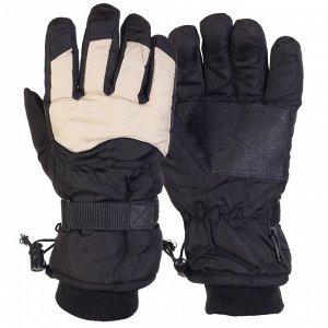 Перчатки Лыжные перчатки с двойной манжетой – теплые, стильные, мобильные №354