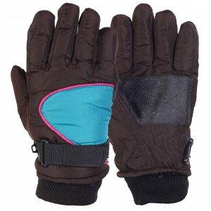 Перчатки Теплые детские перчатки с манжетой – аккуратный крой, усиленные ладони №238