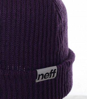 Шапка Однотонная шапка Neff лаконичного дизайна - комфортная модель хоть куда! Заказывай и будь в тепле всегда. №1815