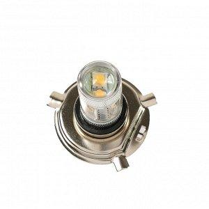 Автолампа светодиодная TORSO H4, 30 Вт, 12В, 900 лм, 6 Epistar HP свет белый