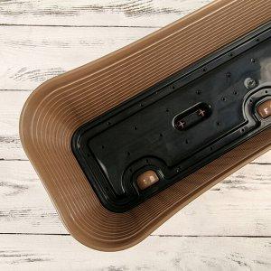 Балконный ящик «Ротанг», 60 см, 12 л, цвет бежевый