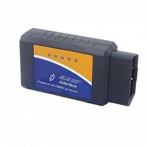 Адаптер для диагностики авто OBD II, Bluetooth, AD-1, версия 2.1