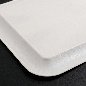 Поднос прямоугольный «Кокетство», 37,5?28 см, рисунок МИКС