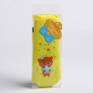 Термосумка «Мишка принц» для бутылочки 250 мл