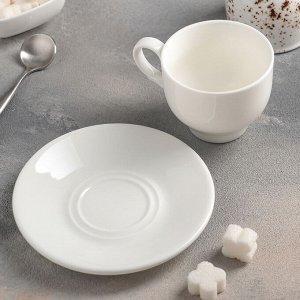 Чайная пара: чашка 220 мл, блюдце 14,2 см