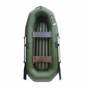 Лодка «Муссон» R-260 НД надувное дно, цвет олива