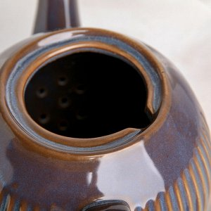 Чайник заварочный «Галактика», 1 л, цвет серый