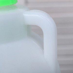 Фляга пищевая, 10 л, горловина 8.5 см, с мерником, белая
