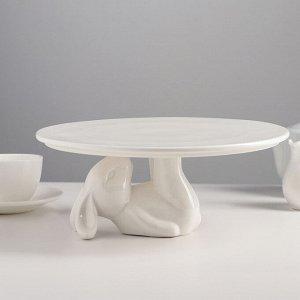 Подставка для торта «Кролл», 25?10 см