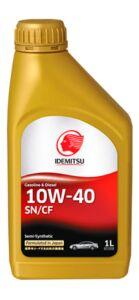 Масло моторное IDEMITSU  SEMI-SYNTHETIC SN/CF 10w40 1л (полусин.универсальное)