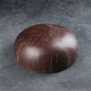 Чаша «Меконг», 13?6 см, из скорлупы кокосового ореха, цвет красный